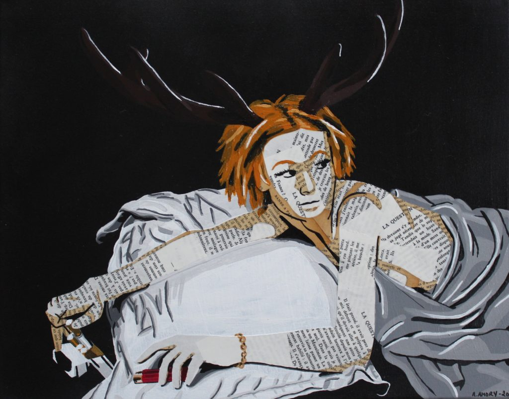 Carole (Vendue) 40 x 50 cm - 2018