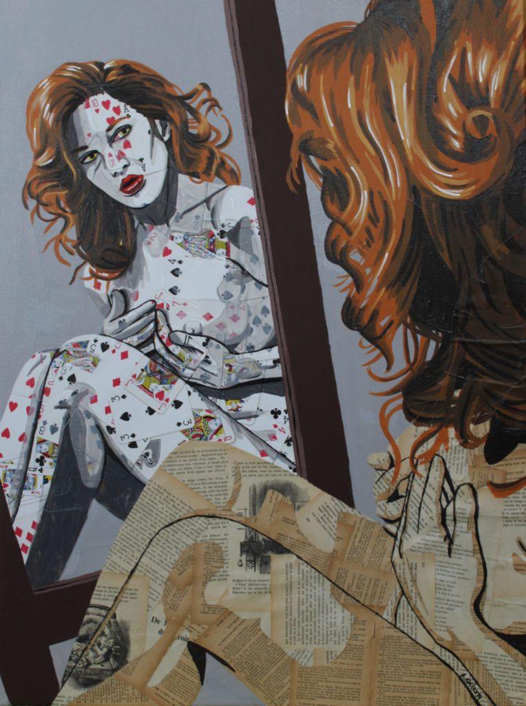 Alice III (Vendue) 60 x 80 cm - 2019
