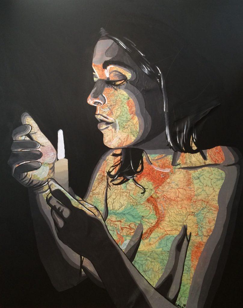 La Révélation (900€) 92 x 73 cm - 2019