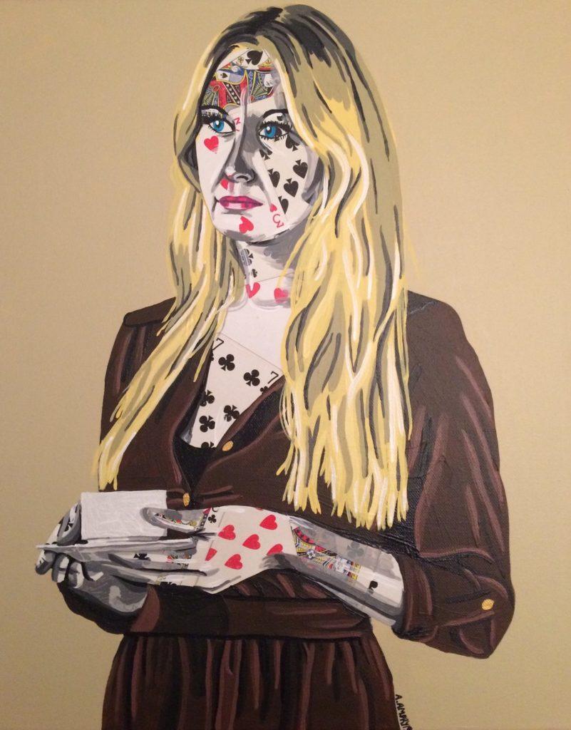 Alice II (195€) 40 x 50 cm - 2019