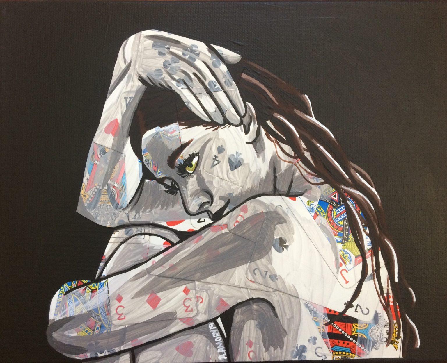 Annabelle I (Vendue) 25 x 30 cm - 2019