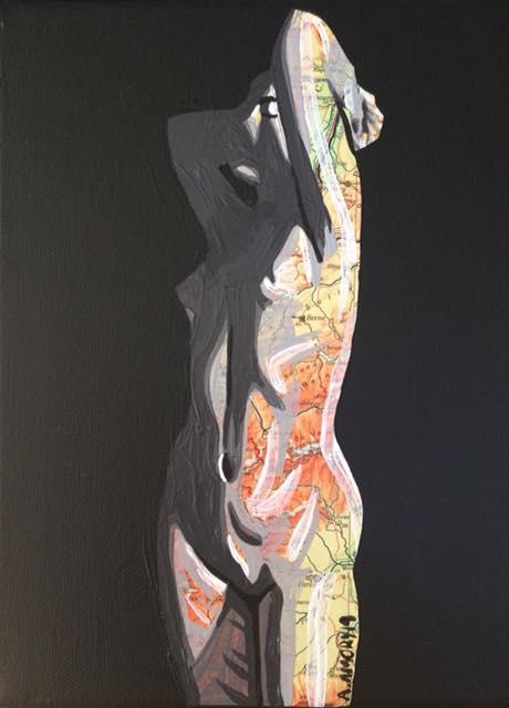 Anne (Vendue) 24 x 18 cm - 2019