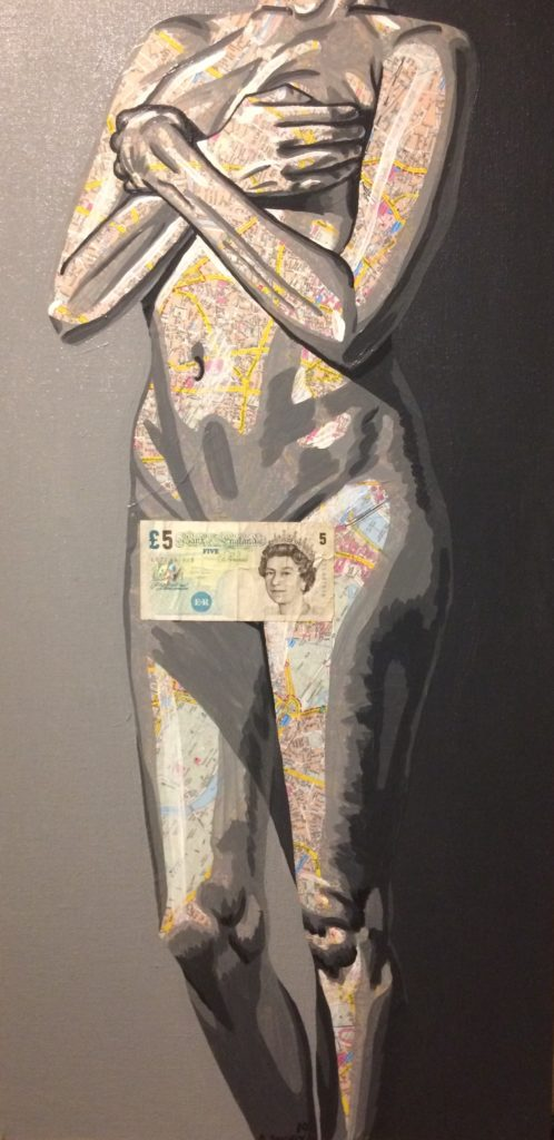 Claudine, 1972 (500€) 40 x 80 cm - 2019