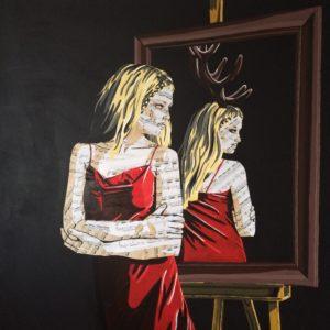 Faux Self (1000€) 100 x 100 cm - 2019