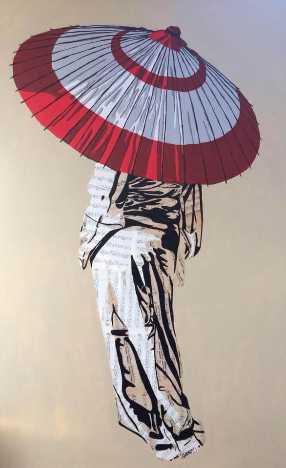 Hanoï II (Vendue) 116 x 73 cm - 2018