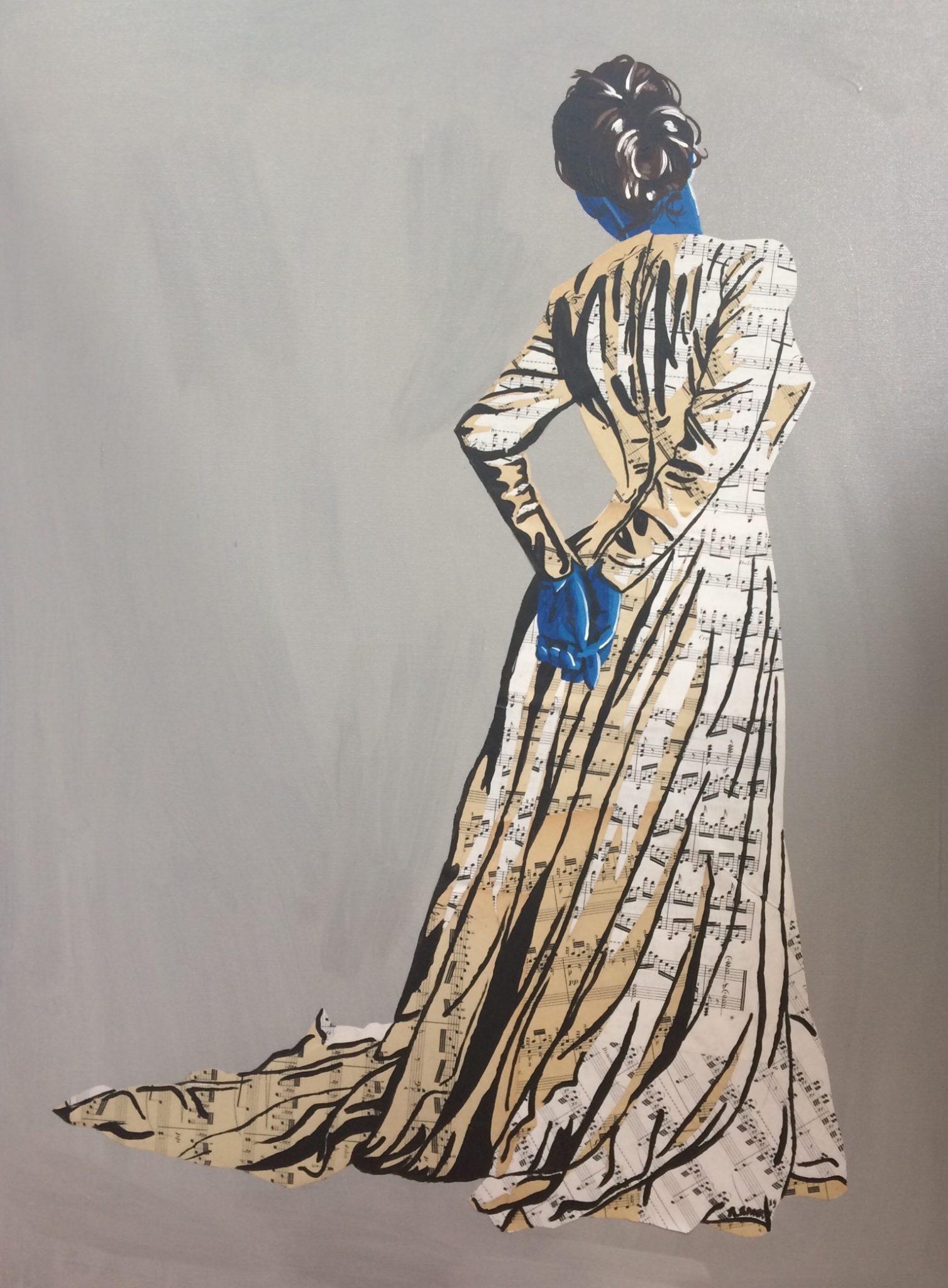 Jennifer (Vendue) 60 x 80 cm - 2019