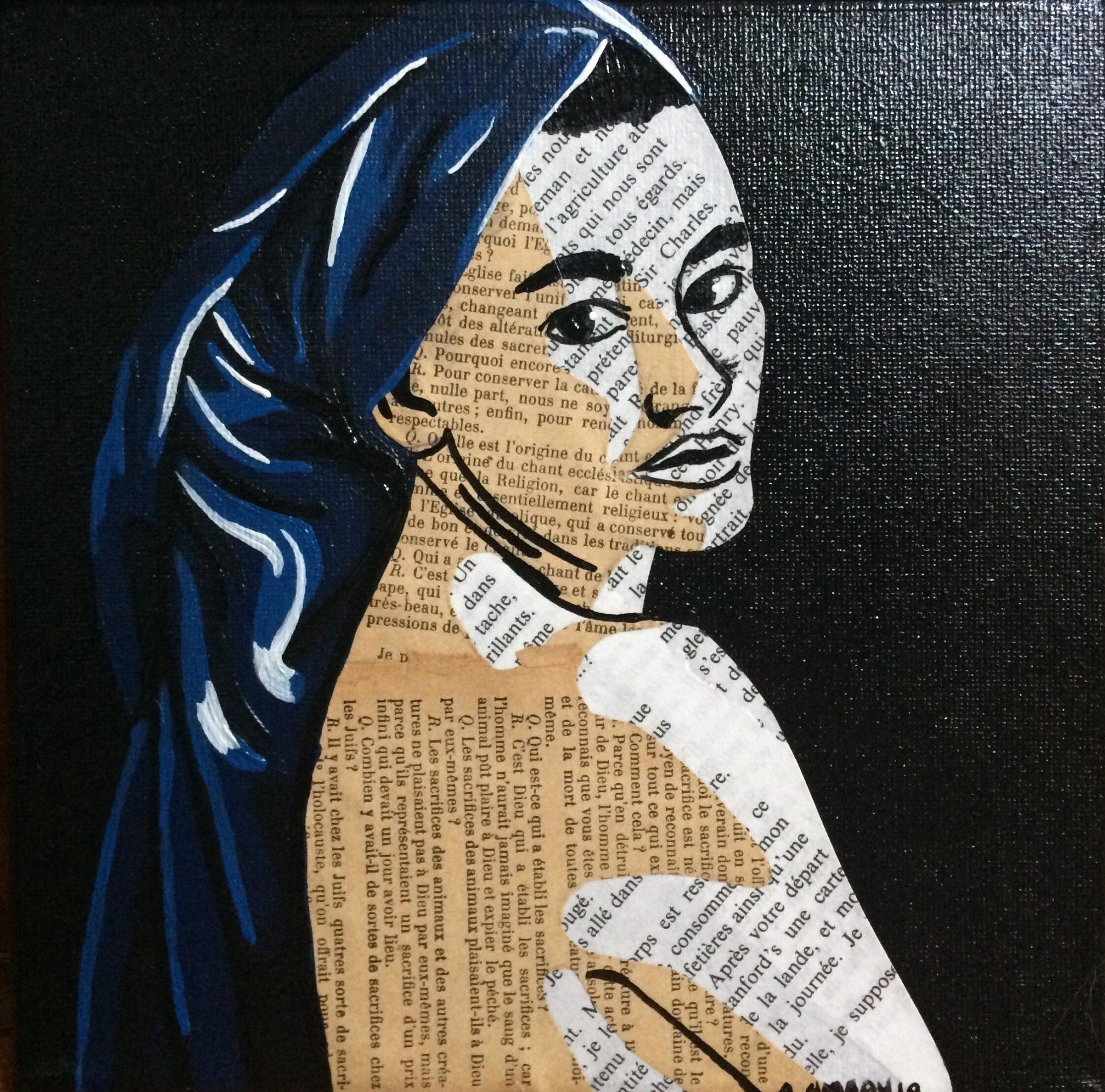Maria (Vendue) 20 x 20 cm - 2018