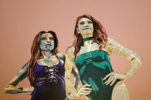 Les héroïnes (800€) 60 x 90 cm - 2020