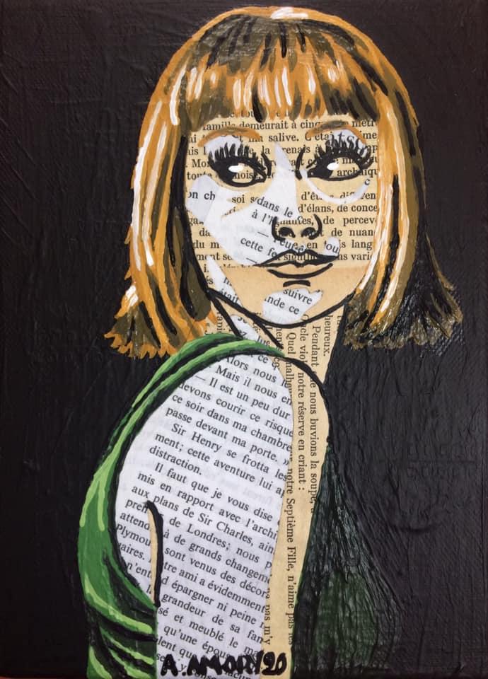 Jeannette (Vendue) 22 x 16 cm - 2020
