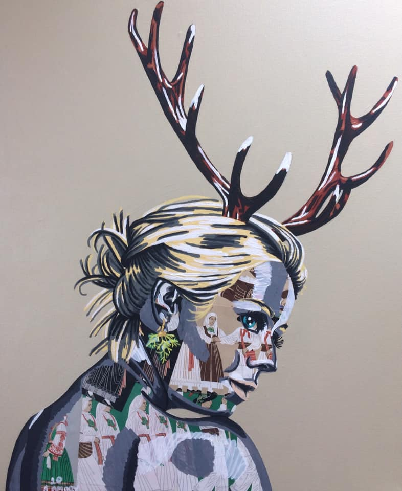 Jésénice (Vendue) 65 x 54 cm - 2020