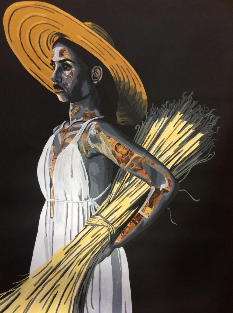 Perséphone (Vendue) 60 x 80 cm - 2020
