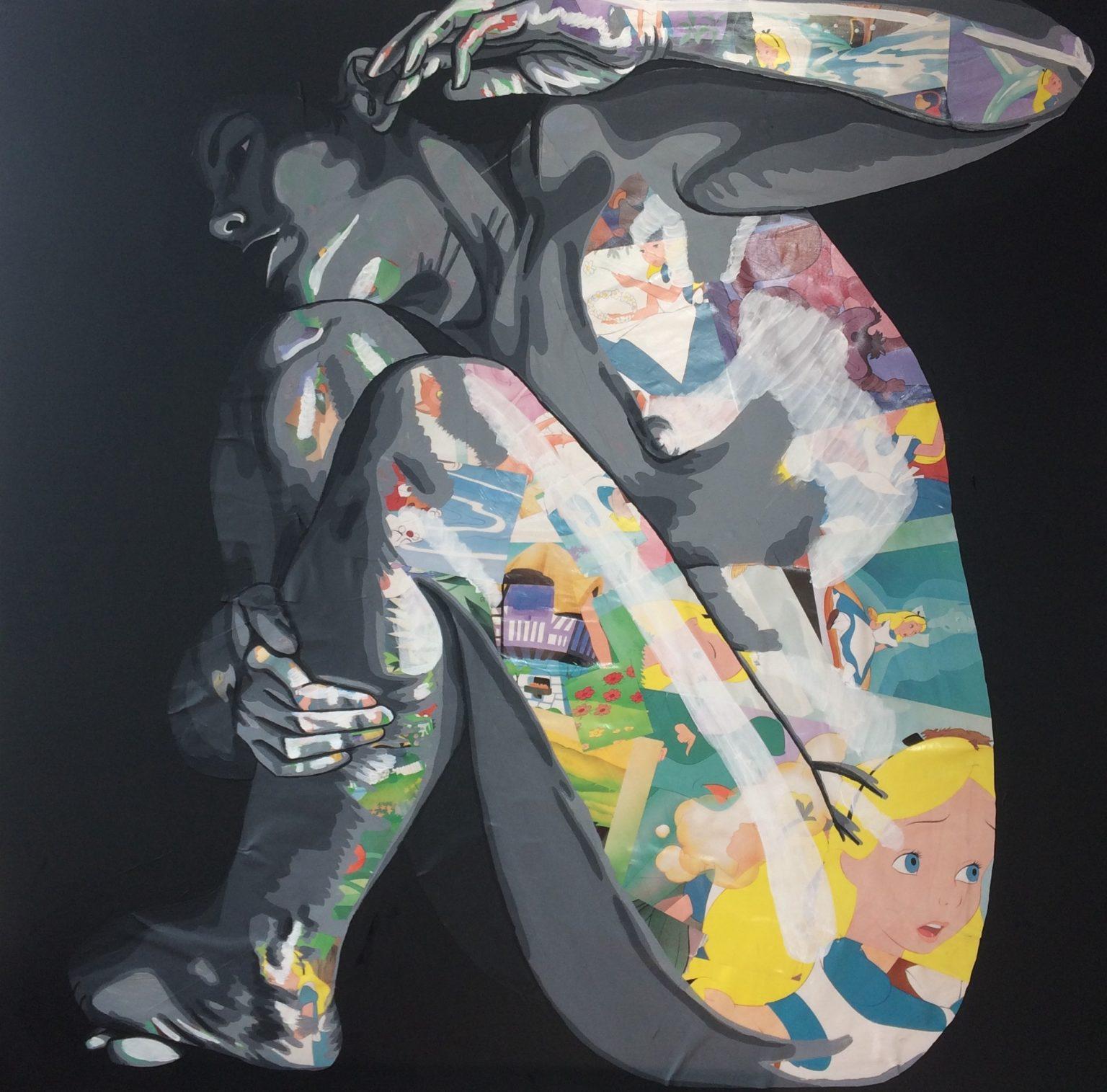 Alice IV (1200€) 100 x 100 cm - 2020
