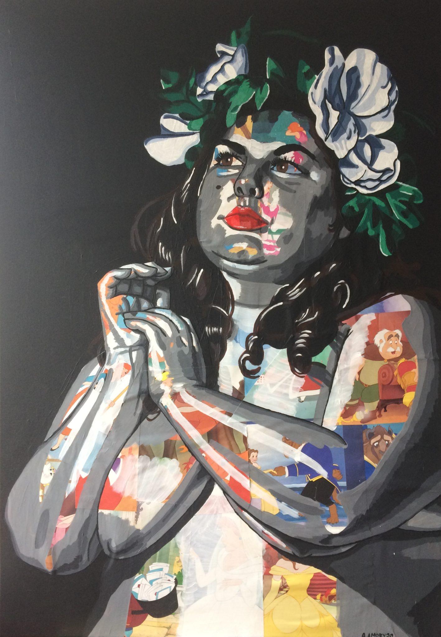 La Muse (1100€) 100 x 70 cm - 2020