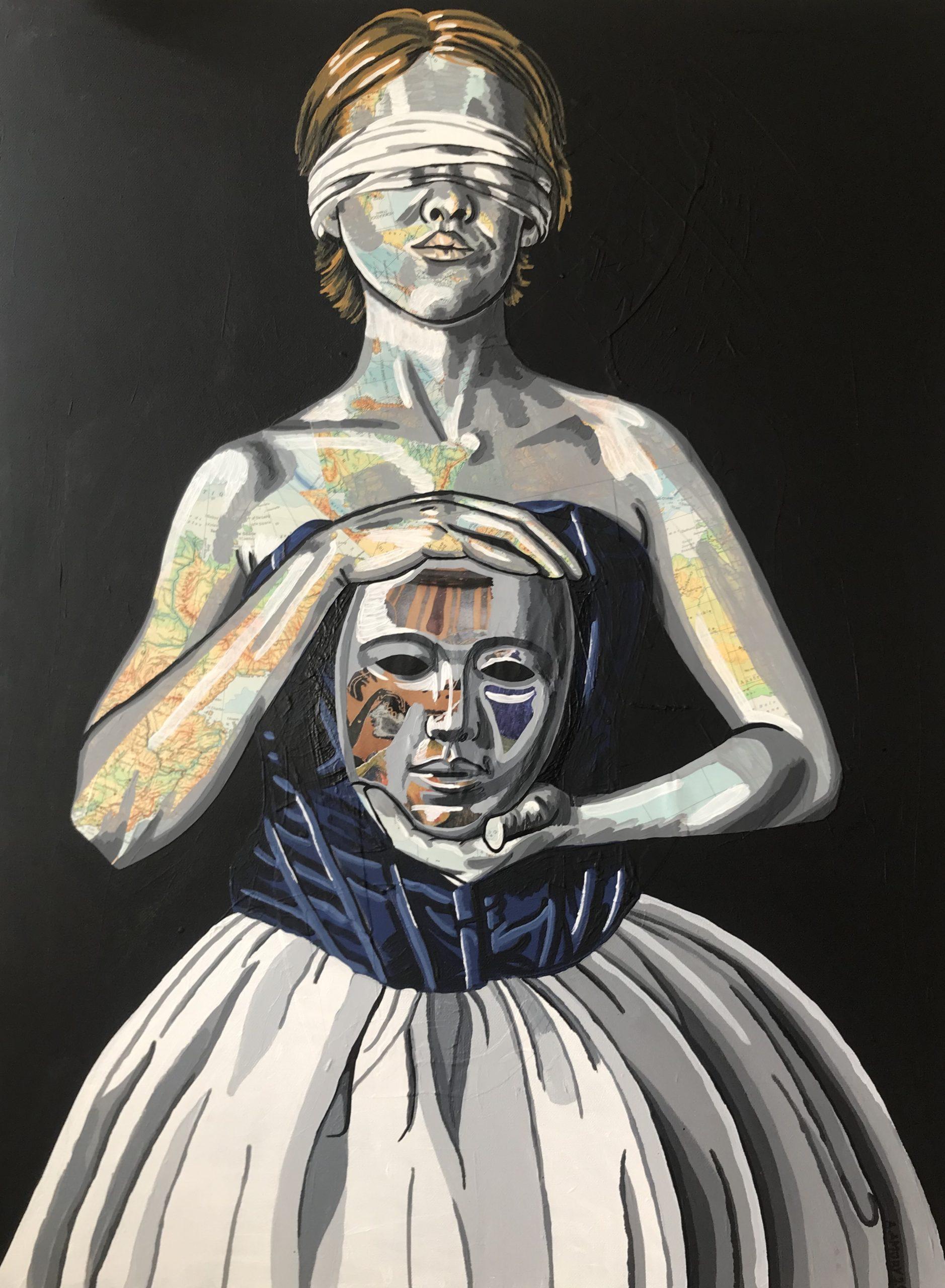 L\'autodidacte (700€) 60 x 80 cm - 2020