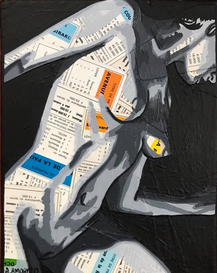 La Propriété (Vendue) 24 x 19 cm - 2020