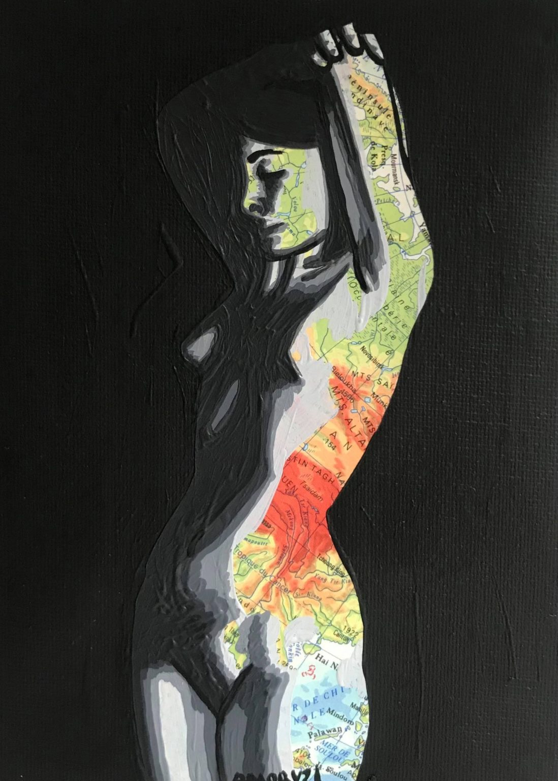 Eva (Vendue) 12 x 18 cm - 2021
