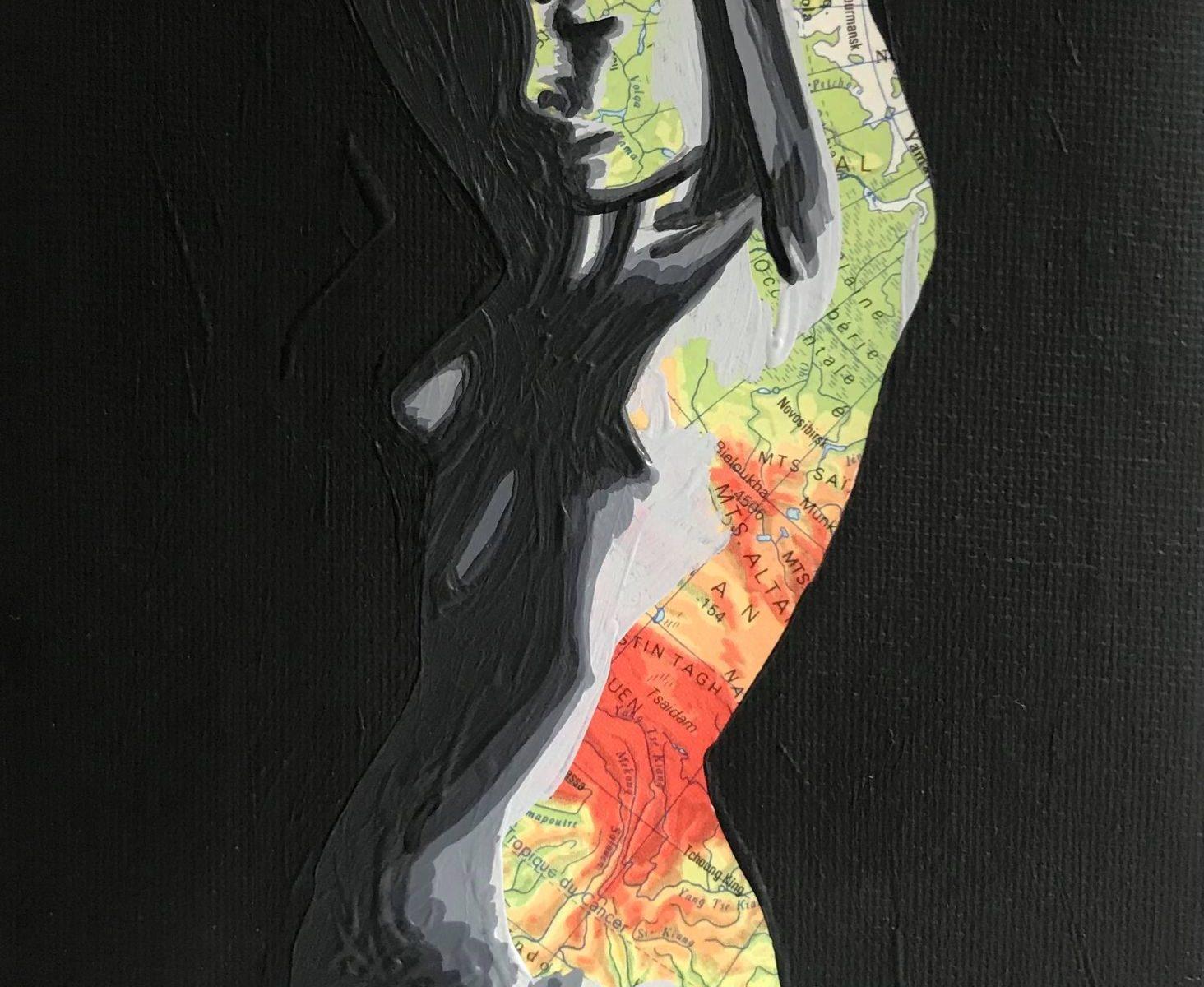 Eva (Réservée) 12 x 18 cm - 2021