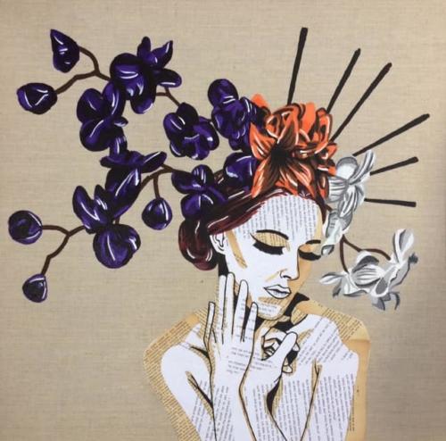 La Dame aux orchidées (disponible)