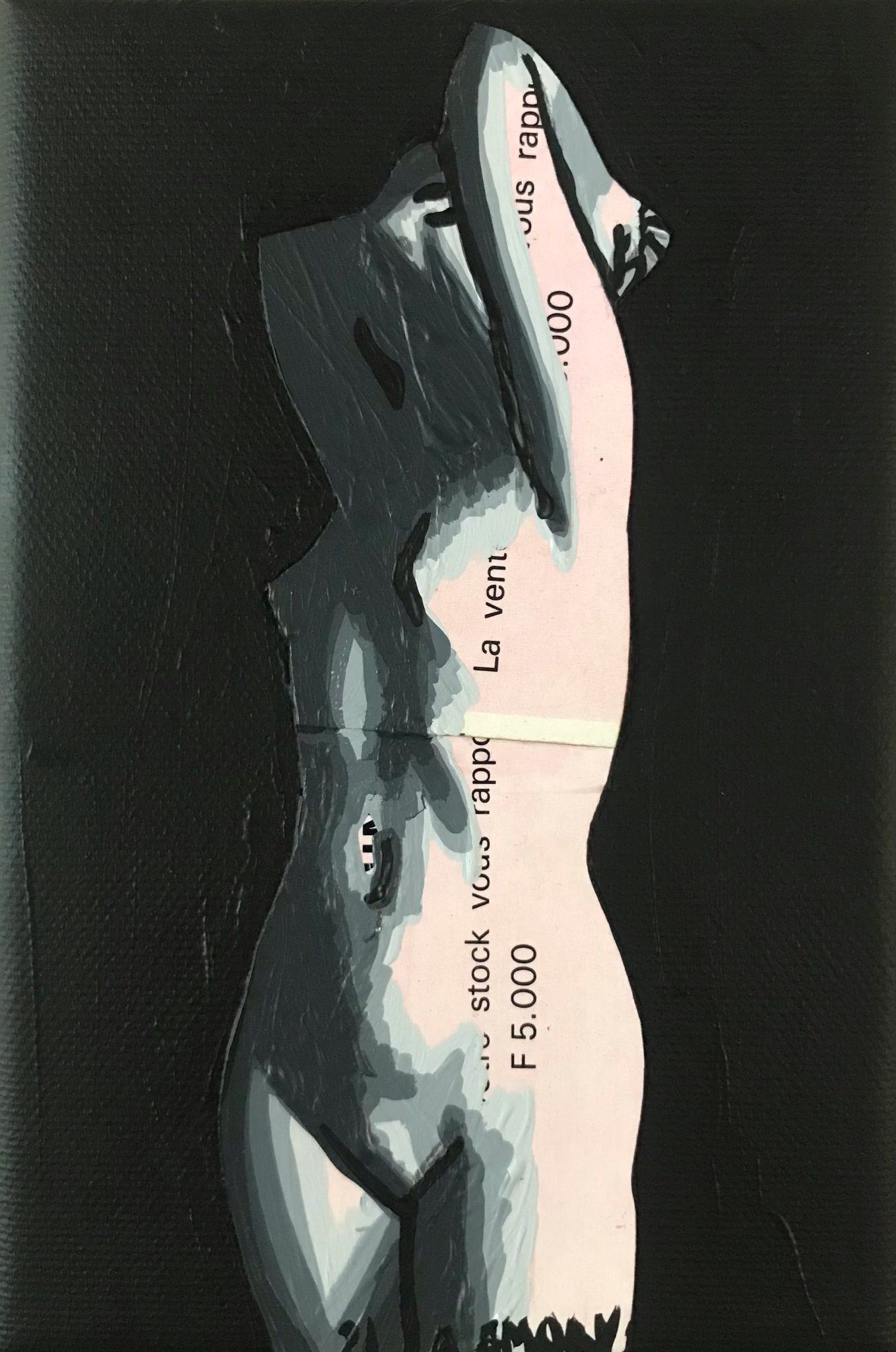 L\\\'Avarice (25€) 10 x 15 cm - 2021