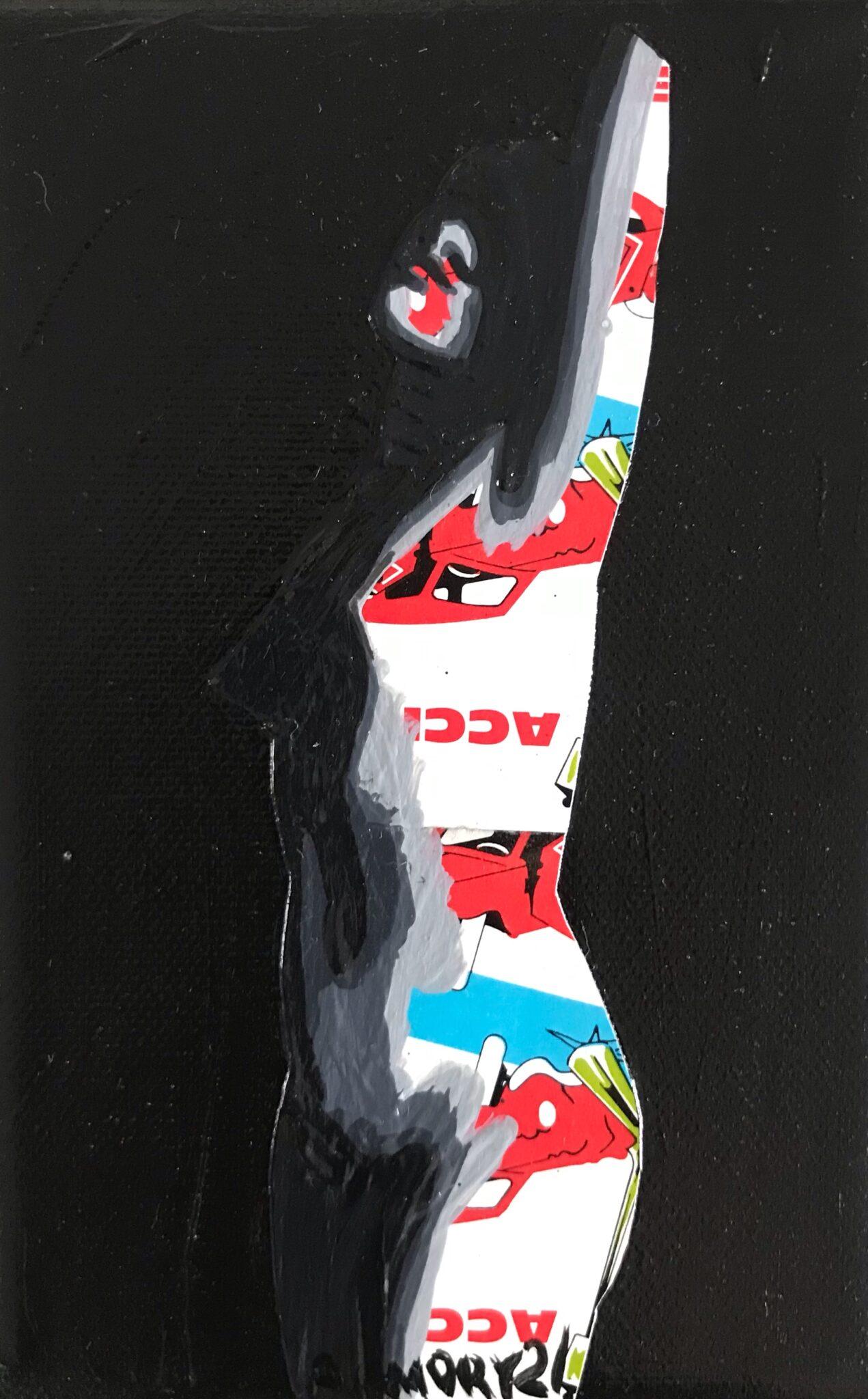 La Colère (25€) 10 x 15 cm - 2021