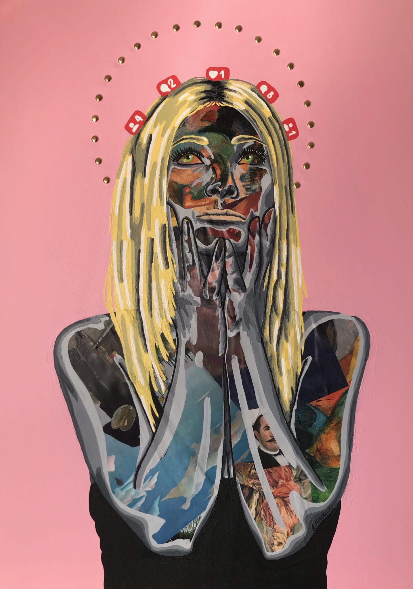 La Dévotion (550€) 50 x 70 cm - 2021